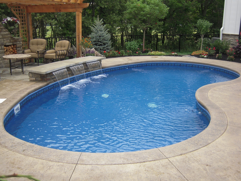 Concrete Inground Swimming Pools