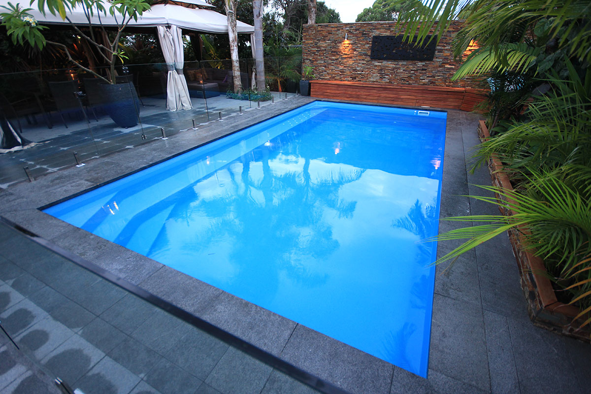 The best small pool designs for small suburban yards for Pool design ideas australia